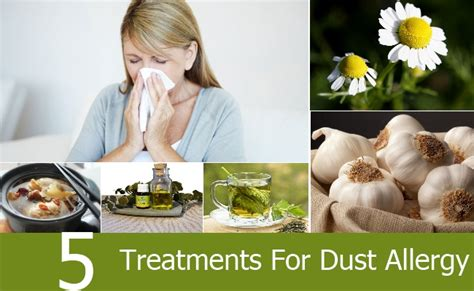 Natural Treatments For Dust Allergy