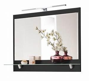Spiegel Bad Mit Ablage : bad spiegel mit ablage und led lampe 90 cm breit ~ Michelbontemps.com Haus und Dekorationen