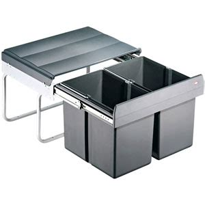 lapeyre cuisine evier poubelles sous évier coulissantes bricotoo