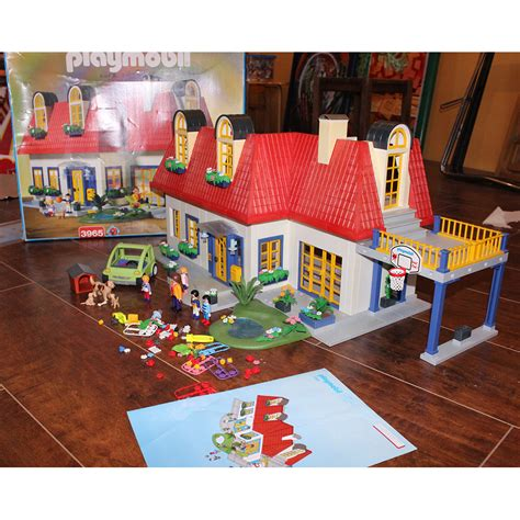 Plan Maison Moderne Playmobil 2007