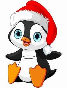 Christmas penguin stock vector. Illustration of label ...