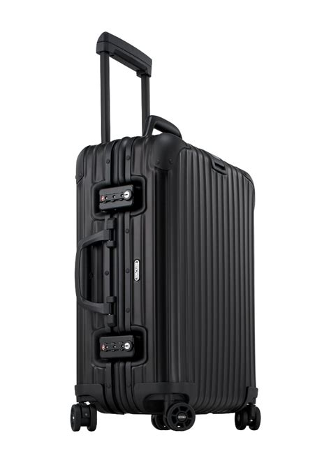 rimowa cabin luggage bergmanluggage rimowa topas stealth cabin multiwheel