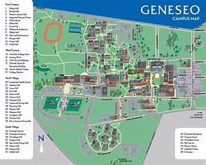 Geneseo Campus Map | Aphisvirtualmeet