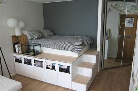 agencer une chambre 1001 idées comment aménager une chambre mini espaces