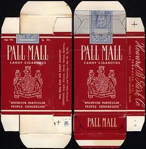 Stark - Pall Mall - Candy Cigarettes - Box