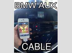 BMW E63 E64 CD PLAYER RADIO MP3 AUX INPUT ADAPTER KIT
