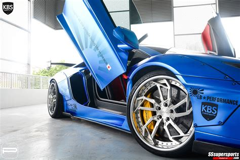, taken with an canon eos 20d 10/31 2017 the. 9 chrome blue liberty walk lamborghini aventador pur wheels front side angle doors up front ...