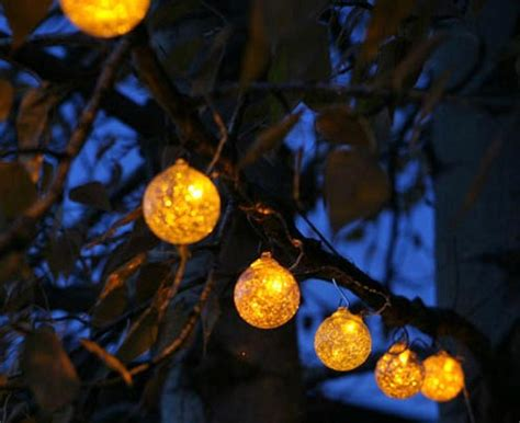 solar bulb string lights outdoor lighting the gardener 39 s eden