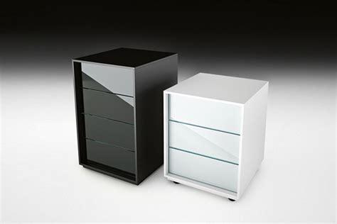 caisson bureau noir caisson de bureau en verre