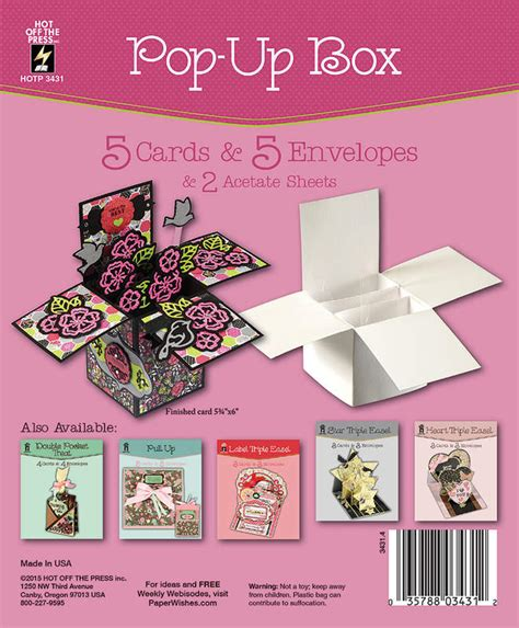 pop up card box template christmas pop up box card with gold shadow sted acetate paper wishes