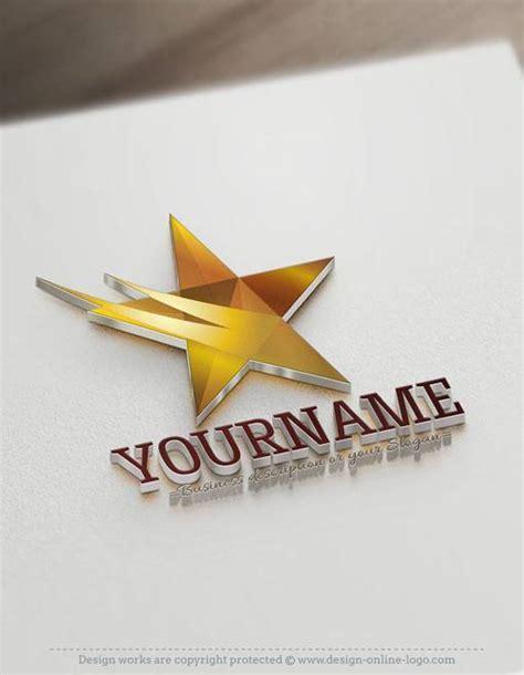 star logo  business card