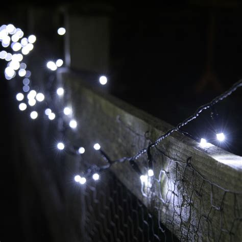 solar bulb string lights 100 white led solar fairy lights 10 metre string