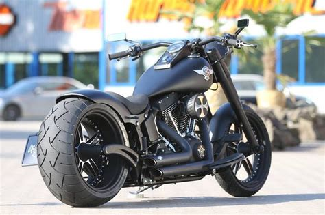 Love The Fatboy Style And That Matte Black Is Sick