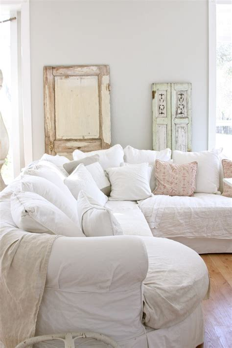 shabby chic white sofa 7 couches so cozy they demand a netflix marathon and how to get their look the accent