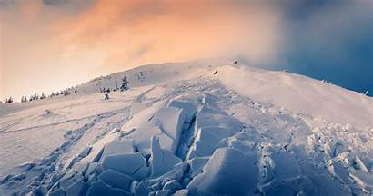 Avalanche Snow Winter Mountains