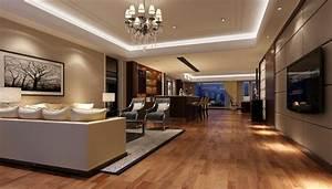 I like this reception area. Well designed lighting creates ...