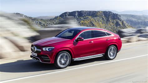 Gallery of 62 high resolution images and press release information. 2021 Mercedes-Benz GLE Coupe (Color: Designo Hyacinth Red Metallic) - Front Three-Quarter   HD ...