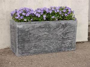 Pflanztroge rocks aus fiberglas wie orig naturstein in for Garten planen mit pflanzkübel aus fiberglas in steinoptik