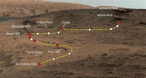 Curiosity Mars rover finds mineral match