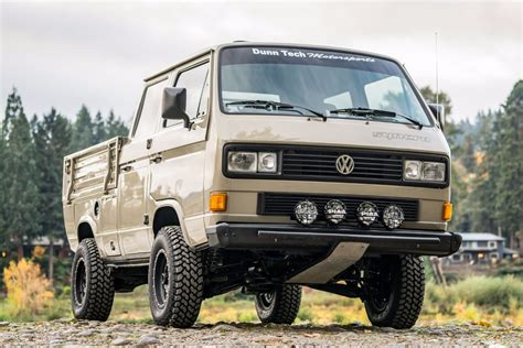 Spotted 1989 Volkswagen T3 Doka Syncro