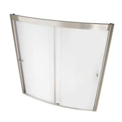 Home Depot Bathtub Doors by American Standard Ovation 60 In X 58 In Framed Bypass