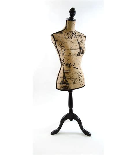 decorative dress forms decorative burlap dressform paris print jo ann