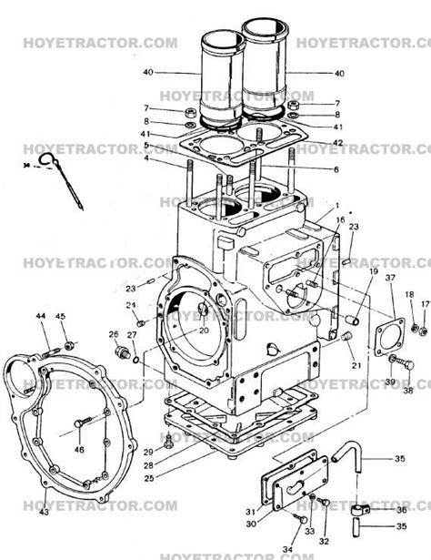 Block Yanmar Tractor Parts