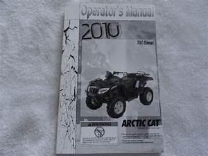 2010 Arctic Cat 700 Diesel Atv Owners Manual