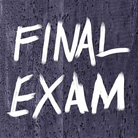 final exam schedule  study tips transitions