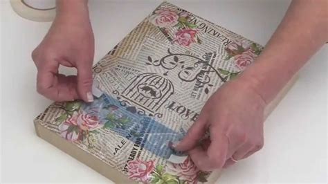 decoupage welcome sign como aplicar laminas de decoupage con adhesivo