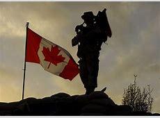 Remembrance Day Jour du souvenir As the sun sets