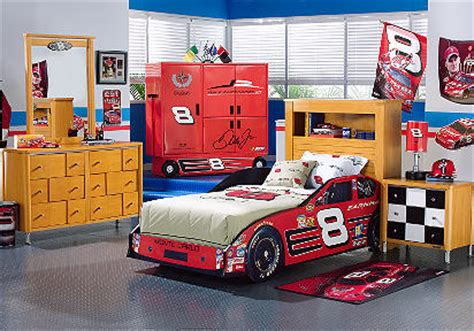 race car room decor car nascar dale earnhardt jr 3 pc bookcase car bedroom