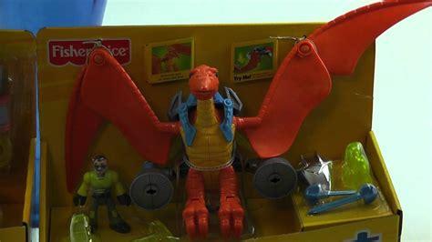 imaginext dinosaurs pterodactyl triceratops apatosaurus