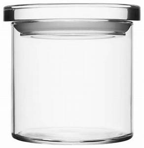 Glass Jars 45quot X 425quot Clear Contemporary Kitchen