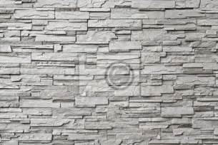 papier peint le mur de pierre grise moderne neuf pixers fr