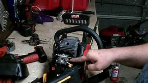 Homelite Chainsaw Repair   How To Rebuild The Carburetor