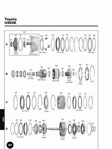 Toyota U660 Transmission Exploded View