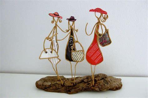 les amies figurines en ficelle et papier accessoires de maison par ficelleetpapier fil de
