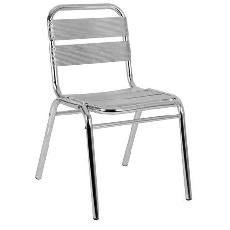 Chaise Terrasse Aluminium  Chaise Aluminium Mobiliers