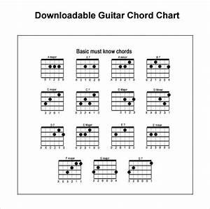 7  Sample Guitar Chord Charts