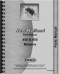 Heavy Equipment Manuals  U0026 Books New Holland 450 455 Mower