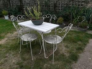 Salon De Jardin Romantique : salon de jardin jardin et campagne ~ Dailycaller-alerts.com Idées de Décoration