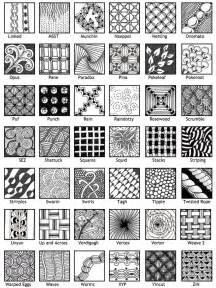 Zentangle Patterns