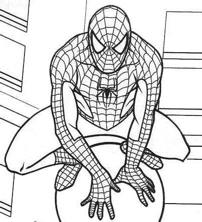 marvel spiderman coloring pages  pinterest