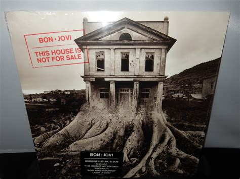 "Bon Jovi ""this House Is Not For Sale"" Vinyl Lp In Gatefold"