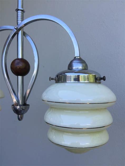 buy deco chrome 2 light pendant plus other antique