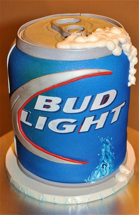 bud light cake bud light can bud light and bud on