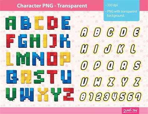 lego letters  print lego letters lego font lettering
