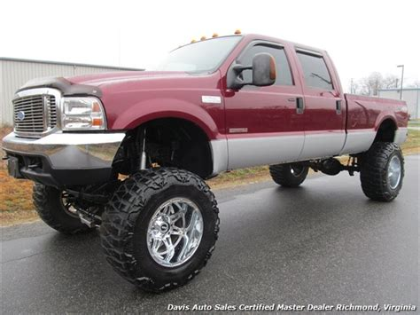 2004 Ford F 250 Super Duty XLT 4X4 Crew Cab Long Bed