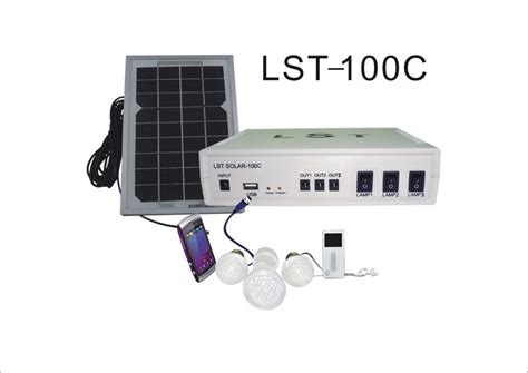 china diy solar led home lighting kit lst 100c china